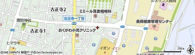 新潟県長岡市小沢町周辺の地図