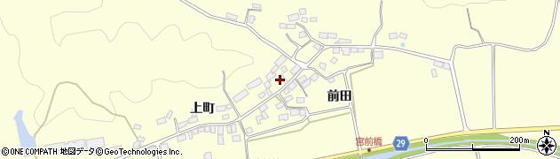 福島県郡山市熱海町上伊豆島周辺の地図