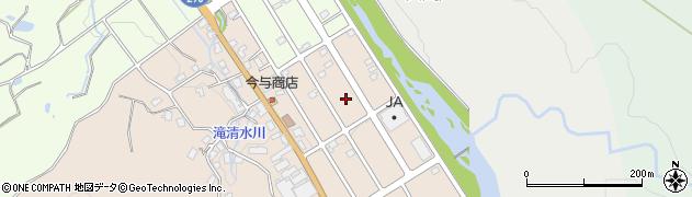 新潟県長岡市栃尾泉周辺の地図