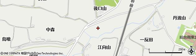 福島県郡山市日和田町梅沢(坂下)周辺の地図