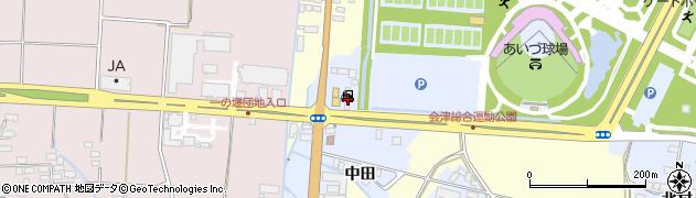 福島県会津若松市門田町大字堤沢(村北)周辺の地図