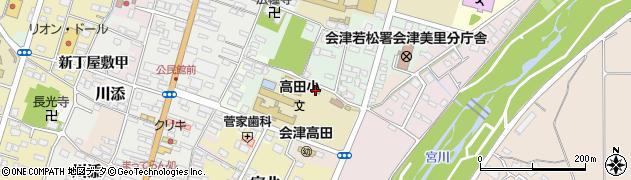 高田・児童クラブ館周辺の地図