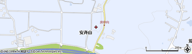 福島県郡山市日和田町高倉(熊ケ久保)周辺の地図