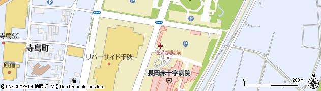 新潟県長岡市千秋周辺の地図