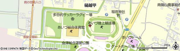 福島県会津若松市門田町大字御山(村上)周辺の地図
