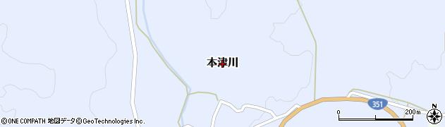 新潟県長岡市本津川周辺の地図