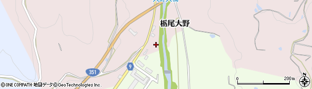 新潟県長岡市栃尾大野周辺の地図