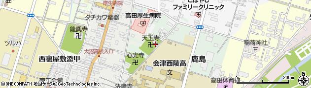天王寺周辺の地図