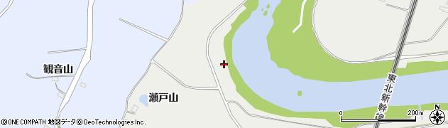 福島県郡山市日和田町梅沢(巻淵)周辺の地図