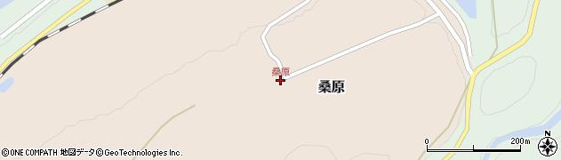 桑原周辺の地図