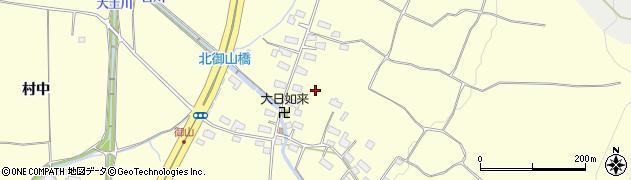 福島県会津若松市門田町大字御山(三島)周辺の地図