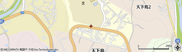 新潟県長岡市上の原町周辺の地図