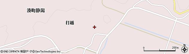福島県会津若松市湊町大字静潟(居穴)周辺の地図