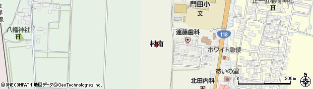 福島県会津若松市門田町大字中野(村南)周辺の地図