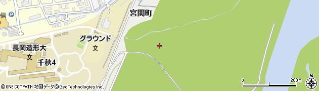 新潟県長岡市宮関町周辺の地図
