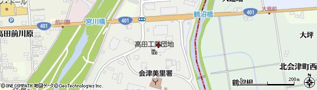 末廣酒造株式会社 博士蔵周辺の地図
