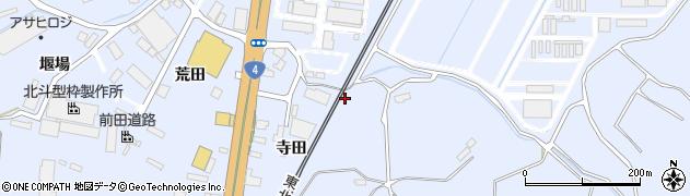 福島県郡山市日和田町高倉(兼谷)周辺の地図