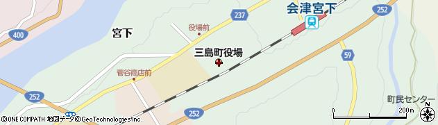 福島県大沼郡三島町周辺の地図
