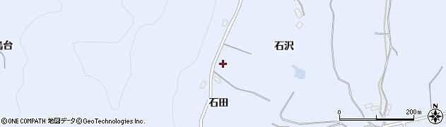 福島県郡山市日和田町高倉(石沢)周辺の地図