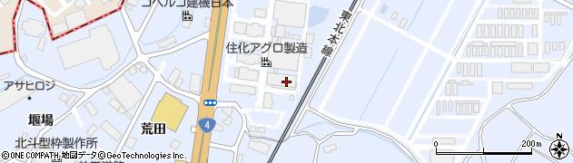 福島県郡山市日和田町高倉(桜内)周辺の地図