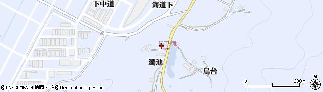 福島県郡山市日和田町高倉(海道下)周辺の地図