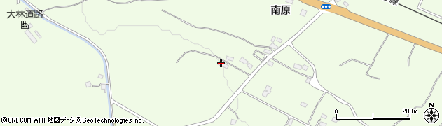 福島県郡山市熱海町安子島(山ノ内)周辺の地図