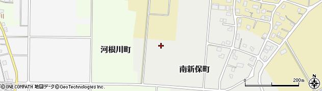新潟県長岡市南新保町周辺の地図