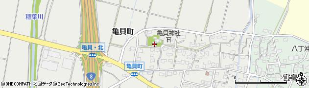 妙音寺周辺の地図