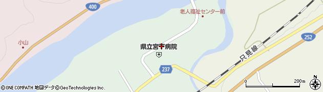 県立宮下病院周辺の地図
