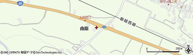 福島県郡山市熱海町安子島(南原)周辺の地図