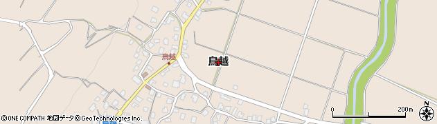 新潟県長岡市鳥越周辺の地図