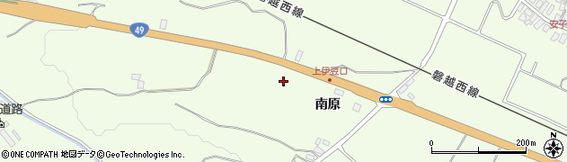 福島県郡山市熱海町安子島(寺池)周辺の地図