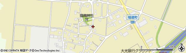 新潟県長岡市福道町周辺の地図