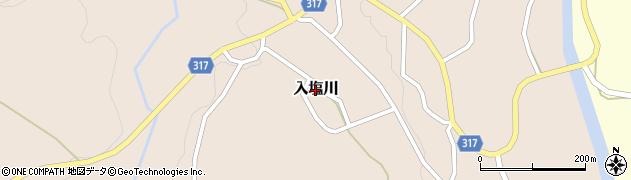 新潟県長岡市入塩川周辺の地図
