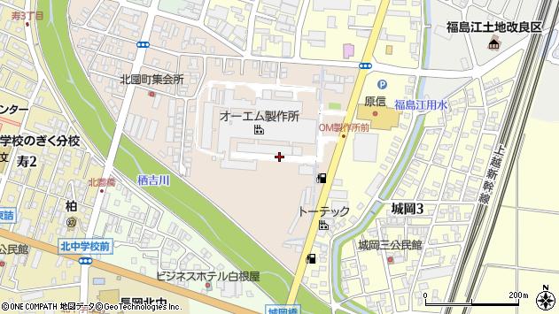 〒940-0014 新潟県長岡市北園町の地図