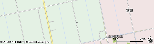 福島県会津若松市北会津町柏原(東大道端)周辺の地図