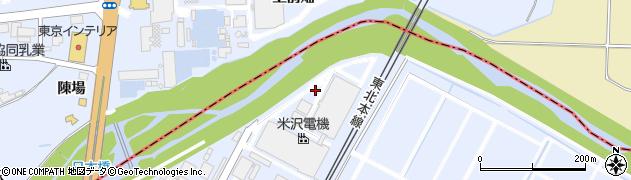 福島県郡山市日和田町高倉(弥蔵田)周辺の地図