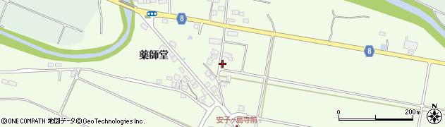 福島県郡山市熱海町安子島(五輪塔)周辺の地図