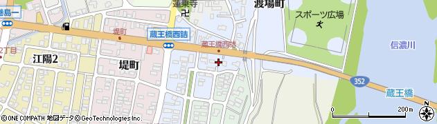 新潟県長岡市渡場町周辺の地図