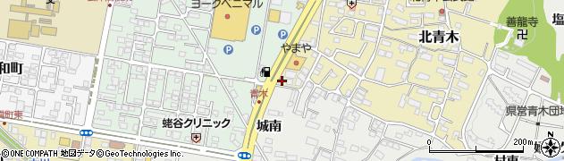株式会社東北イートップ 会津若松事務所周辺の地図