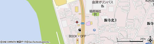 福島県会津若松市門田町大字飯寺(上村西)周辺の地図