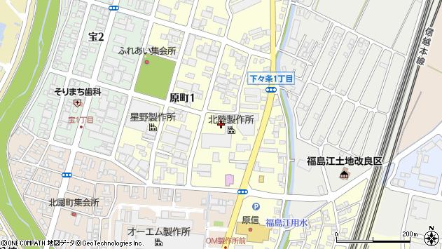 〒940-0012 新潟県長岡市下々条の地図
