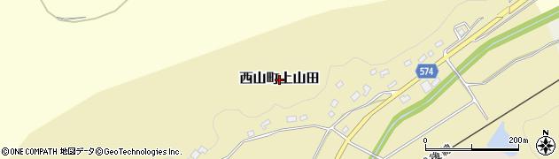 新潟県柏崎市西山町上山田周辺の地図