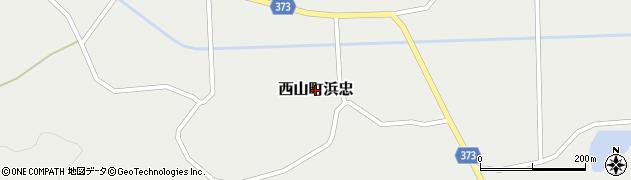 新潟県柏崎市西山町浜忠周辺の地図