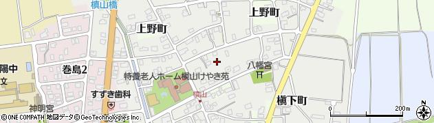 新潟県長岡市槇山町周辺の地図