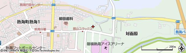 福島県郡山市熱海町玉川(反田)周辺の地図