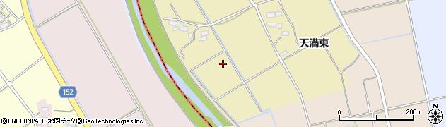 福島県会津若松市北会津町天満(墓の前)周辺の地図