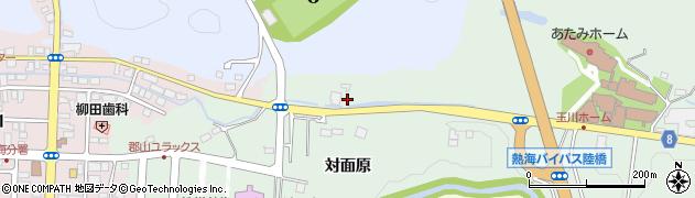 福島県郡山市熱海町玉川(阿曾沢)周辺の地図