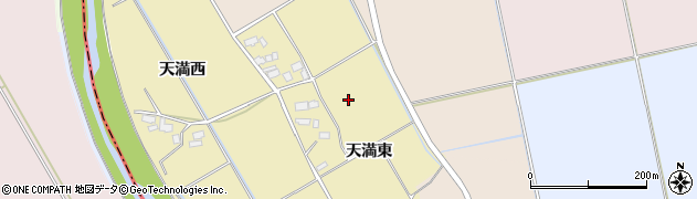 福島県会津若松市北会津町天満(天満東)周辺の地図