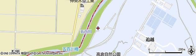 福島県郡山市日和田町高倉(阿久津)周辺の地図